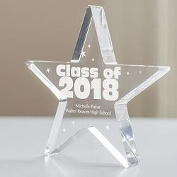 Personalized Class of Star Keepsake