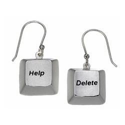 Help & Delete Earrings
