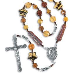 Topaz Rosary