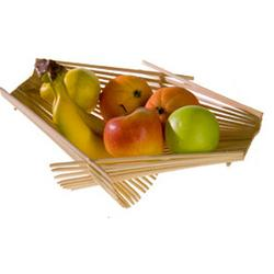 Recycled Chopstick Folding Basket