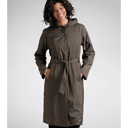 Packable Travel Trench Coat