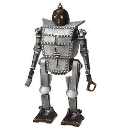 Bob the Robot Recycled Metal Coin Bank