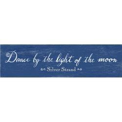 Personalized Dance by the Light of the Moon Plaque