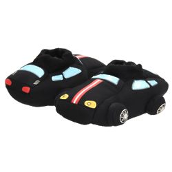 Race Cars with Lights Boy's Slippers