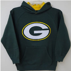 Packers Youth Green Sportsman Hoodie