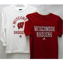 Wisconsin Badgers Boy's Layered T-Shirts