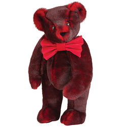 Smoldering Red Bowtie Teddy Bear