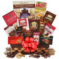 Christmas Chocolate Delights Gift Basket