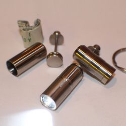 Stainless Steel Cash Can