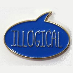 Illogical Enamel Pin