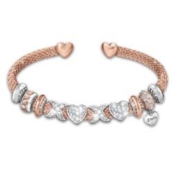 Daughter's Personalized All My Love Swarovski Bracelet