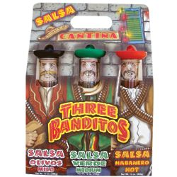 Three Banditos Salsa Gift Set