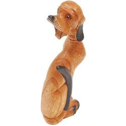 Carved Wood Dog