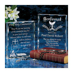 First Communion/Confirmation Keepsake Block