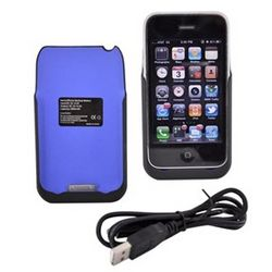 Power Juice Pack iPhone 3G Rechargeable Battery Case