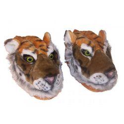 Orange Tiger Slippers