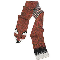 Fox Recycled Cotton Animal Stole