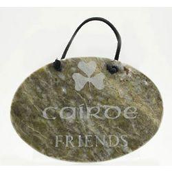Cairde Marble Plaque