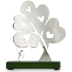 Tree of Hearts I Aluminum Sculpture
