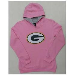 Toddler's Packers Pink Sportsman Hoodie