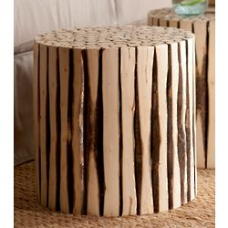 Recycled Poplar Side Table