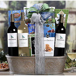 Edenbrook Vineyards California Assortment Wine Basket