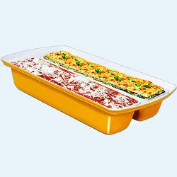Dual Lasagna Pan