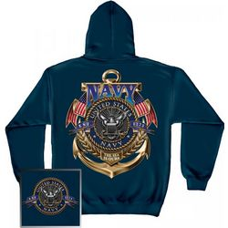 US Navy The Sea Is Ours Hooded Sweatshirt