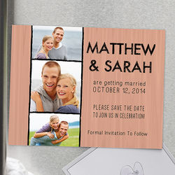 Simply In Love Personalized Save the Date Magnets