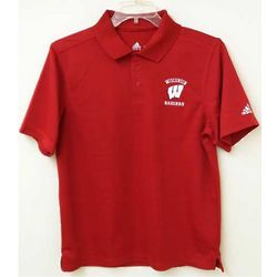 Men's University of Wisconsin Polo Shirt