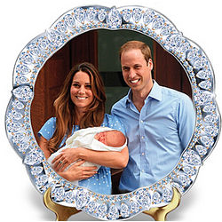 Prince of Cambridge Royal Heir Jeweled Plate
