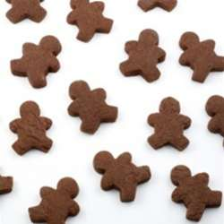Mini Gingerbread Men Cookies