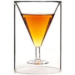 Martini Illusion Shot Glass
