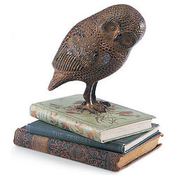 Cast Aluminum Owl Statue
