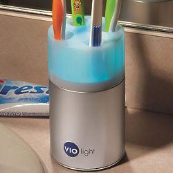 Family's Countertop Toothbrush Sanitizer
