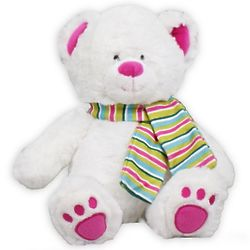 "12"" Pink Slopes Teddy Bear"
