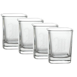 Personalized Aris Shot Glasses