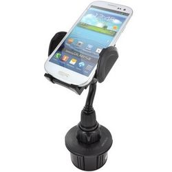 Adjustable Automobile Cup Holder Device Mount