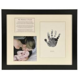 Mommy's Hands Frame with Photo and Handprint