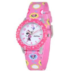 Kid's Disney Minnie Mouse Time Teacher Watch