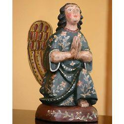 Angel of Hope Wood Sculpture