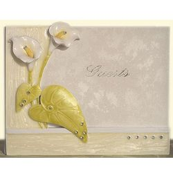 Elegant Lily Collection Guest Book