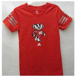 Girl's Bucky Badger Jersey T-Shirt