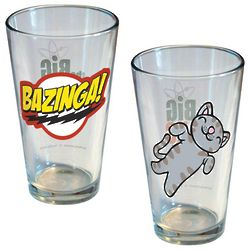 The Big Bang Theory Pint Glasses