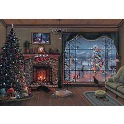 Hearth Scene Christmas Cards