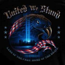 United We Stand 9-11 Tribute Hooded Sweatshirt