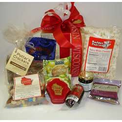 Wisconsin Snacks and Sweets Gift Box