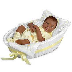 Makayla Grace Realistic African-American Baby Doll