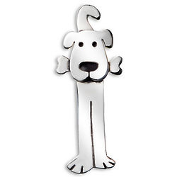 Lulu the Dog Pin