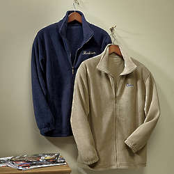 Personalized Full Zip Polar Fleece Jacket